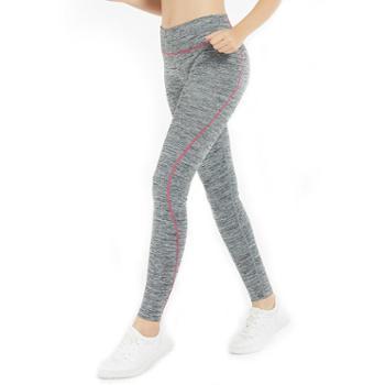 埃尔蒙特ALPINTMOUNTAIN运动长裤时尚健身运动瑜伽舞蹈服下装弹力透气排汗修身裤