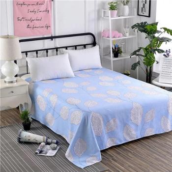 植物羊绒棉加厚床单承诺不掉色不缩水不起球一件