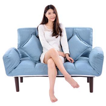 (生活用品沙发)D2普通款贵妃椅双人懒人沙发小户型沙发卧室可折叠多功能沙发床
