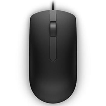 戴尔MS116有线光电鼠标笔记本鼠标