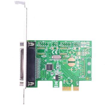 魔羯(MOGE)PCIEx1并口卡LPT打印机接口 台式机IEEE1284扩展卡