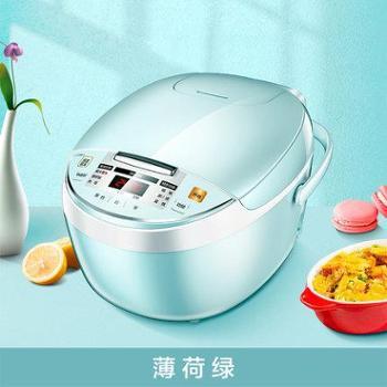 美的电饭煲家用电饭锅小型1-2-3人智能4特价多功能宿舍3L升美的小型电饭煲