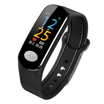 心电图彩屏多功能智能手环运动防水监测心率血压电极式心脏老人手表计步器男女睡眠健康oppo苹果vivo安卓通用