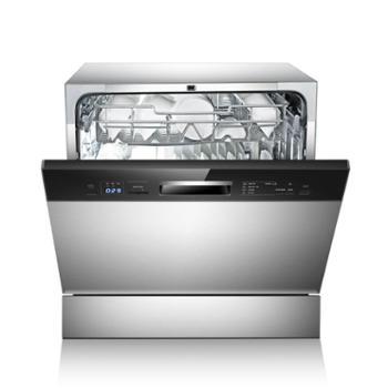 美的(Midea) 嵌入式不锈钢家用洗碗机 智能超快洗 自清洁 消毒除菌