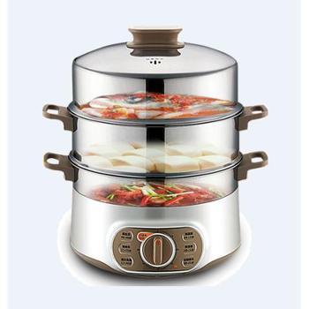 苏泊尔电蒸锅家用多功能自动断电大容量蒸笼蒸菜器蒸锅