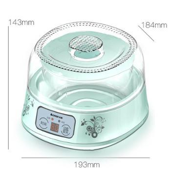 志高(CHIGO)酸奶机 360°恒温发酵 定时断电微电脑定时断电家用全自动米酒机加厚玻璃内胆SNJ36 配4密封玻璃分杯