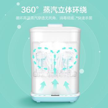 美的 奶瓶消毒 锅婴儿奶瓶器带烘干二合一 小型消毒柜蒸汽多功能