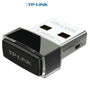 TP-LINK普联TL-WN725N免驱版无线USB网卡路由器家用办公WiFi收发