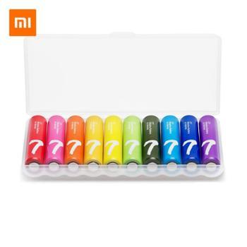 小米彩虹7号电池10粒装碱性干电池家用遥控器玩具电池