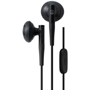 Audio Technica/铁三角 ATH-C200IS半入耳式耳机带麦线控耳塞耳麦