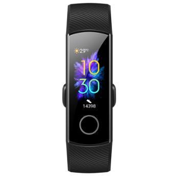 荣耀手环5 NFC血氧监测4代升级智能运动手表移动支付睡眠计步遥控自拍NFC
