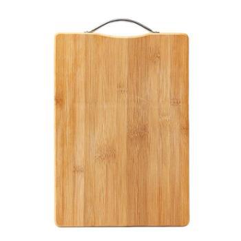 厨房菜板长方形竹子砧板切菜板大号加厚实木刀板案板40*30*1.8cm