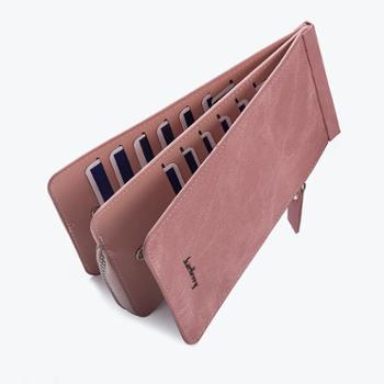 baellerry新款钱包女士长款多卡位韩版拉链钱夹手拿包