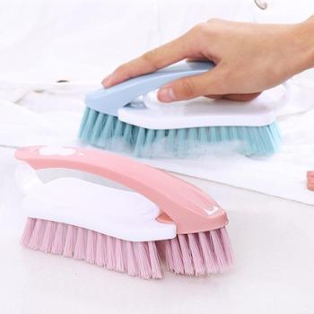 多功能洗衣刷刷衣服刷子二合一家用软毛家务塑料清洁刷洗鞋刷板刷(2个装)