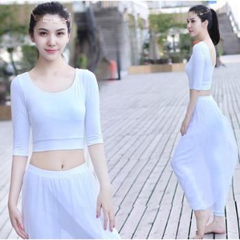 舞韵纱裤瑜伽服套装女瑜珈服假两件透视瑜伽运动服