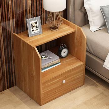 床头柜置物架小柜子储物柜简易北欧床边收纳柜卧室简约现代经济型