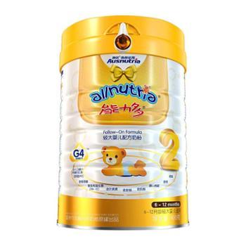 澳优(Ausnutria)荷兰能力多婴幼儿配方奶粉2段(6-12月)400克