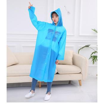 旅行便携式磨砂雨衣男女通用骑行户外登山雨披长装