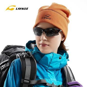 laynos雷诺斯正品情侣抓绒帽男户外登山帽子冬天女士冬款滑雪保暖135B198A