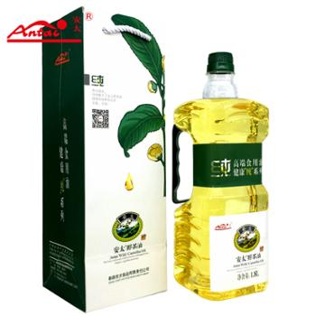 安太野生茶籽油1800ml瓶装