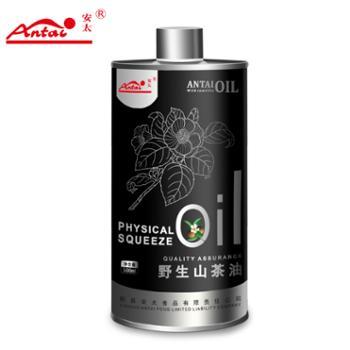 安太纯茶油500ml瓶装