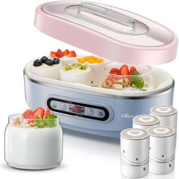 Bear/小熊 SNJ-A15K1酸奶机家用全自动玻璃纳豆机陶瓷内胆分杯