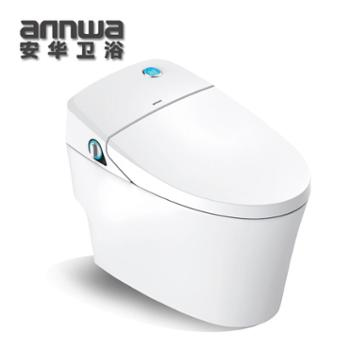 安华连体智能坐便器喷射虹吸式时尚简约ab13007M/L