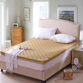 乔凡娜 榻榻米三明治床垫 加厚立体1.5m1.8米床可折叠学生宿舍竹炭