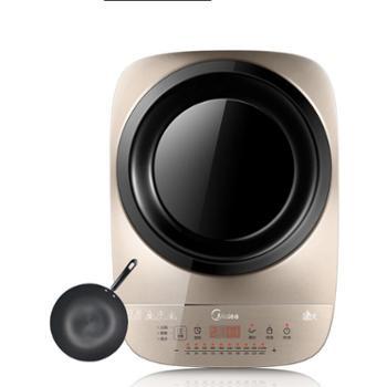 Midea/美的电磁炉家用凹面智能电池炉灶触摸屏C21-IH2105U