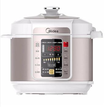 Midea/美的 电压力锅家用双胆智能6L高压饭煲 MY-CS6029P/PCS5029P