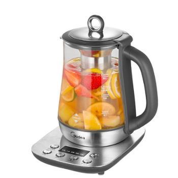 Midea/美的 养生壶加厚全自动玻璃煮茶器烧水煎药壶 MK-GE1503a