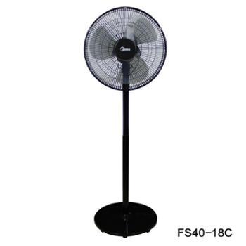 美的 电风扇落地扇台式大风静音三叶家用卧室 FS40-18C