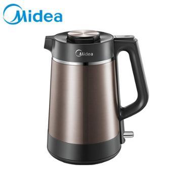 Midea/美的 电热水壶 真空保温3层自然保温12小时304 MK-VJ1502A
