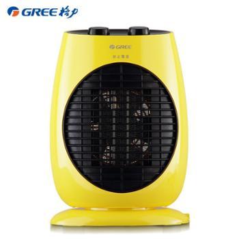 格力暖风机家用节能取暖器电暖气摇头省电迷你立式电暖风便携速热NTFD-18-WG