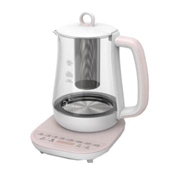 Midea/美的 养生壶花茶壶电热水壶烧水壶1.5L容量MK-GE1531