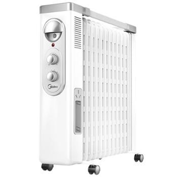Midea/美的油汀取暖器家用电暖气电热油丁电暖器节能油酊炉NY2513-16FW