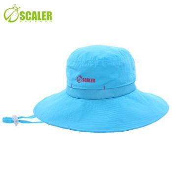 SCALER思凯乐户外男女款遮阳帽子速干防紫外线帽旅游必备S6211208