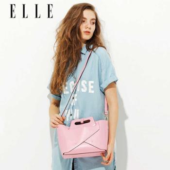 ELLE女包2017年新品70101休闲时尚女款单肩包手提包斜挎包套装包