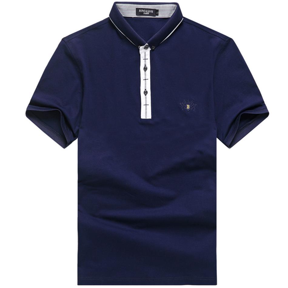 谁推荐一件蓝色无图案短袖立领T恤,淘宝上的,谢谢?