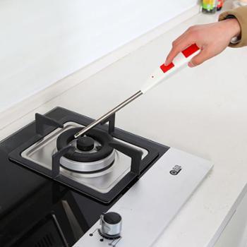 好力得HLD-3102电子脉冲点火枪装电池点火器煤气燃气灶加长打火器家用加长厨房用电子点火