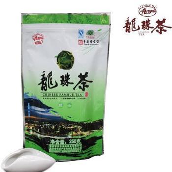 重庆特产开县龙珠茶 绿茶 袋装250g 重庆老字号 高山有机生态绿色 三峡茗茶LZ-009