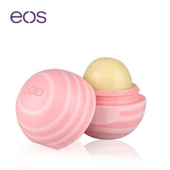 美国进口EOS伊欧诗润唇膏包邮浓醇椰香7g/个滋润防干裂保湿嫩唇