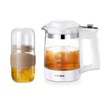 康佳(KONKA)液体加热器养生壶YS0502E 知味茶馨-组合 泡茶杯+ 电水壶