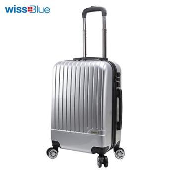 维仕蓝20寸时尚拉杆箱B717万向轮拉杆箱箱包旅行箱行李箱硬箱
