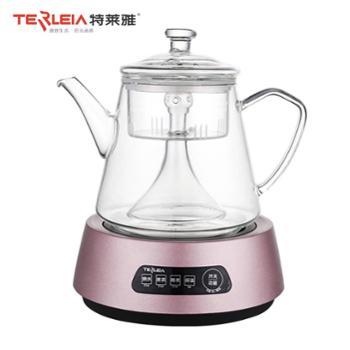 特莱雅 全玻璃蒸茶壶喷淋式养生壶CL60【3款色可选】