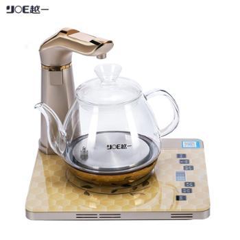 越一 多功能恒温电热水壶高硼硅玻璃会说话养生煮茶壶 K12