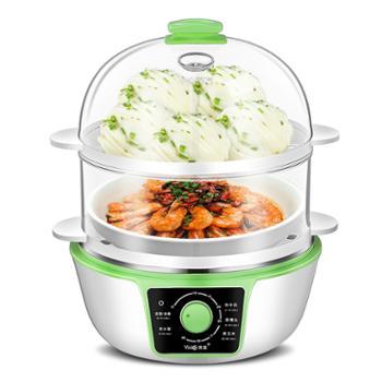 优益 煮蛋器双层自动断电蒸蛋机 YZDQ16