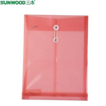 Sunwood/三木 档案袋 F121H A4 高档PP档案袋/文件袋/资料袋