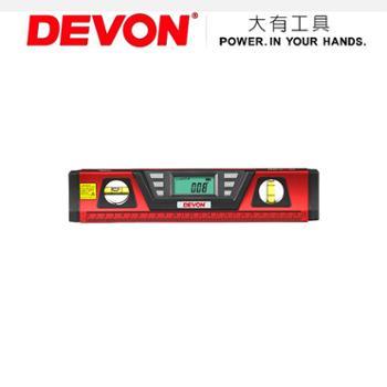 DEVON大有激光数显水平尺9405.2 红外线激光找平 30cm高精度 打线