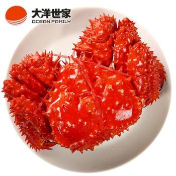 大洋世家/OCEANFAMILY熟冻帝王蟹1.9-2.2斤/个